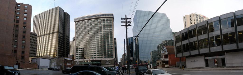 Skyscrapers on Ottawa's Lyon Street.