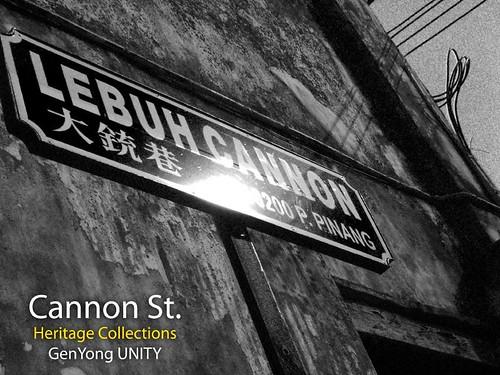 Cannon St.