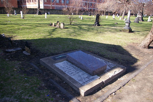 Graves of Lorenzo and Rebecca Carter