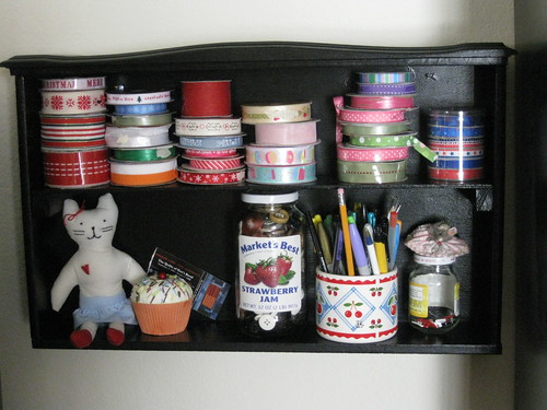 Drawer Shelf Cose Up