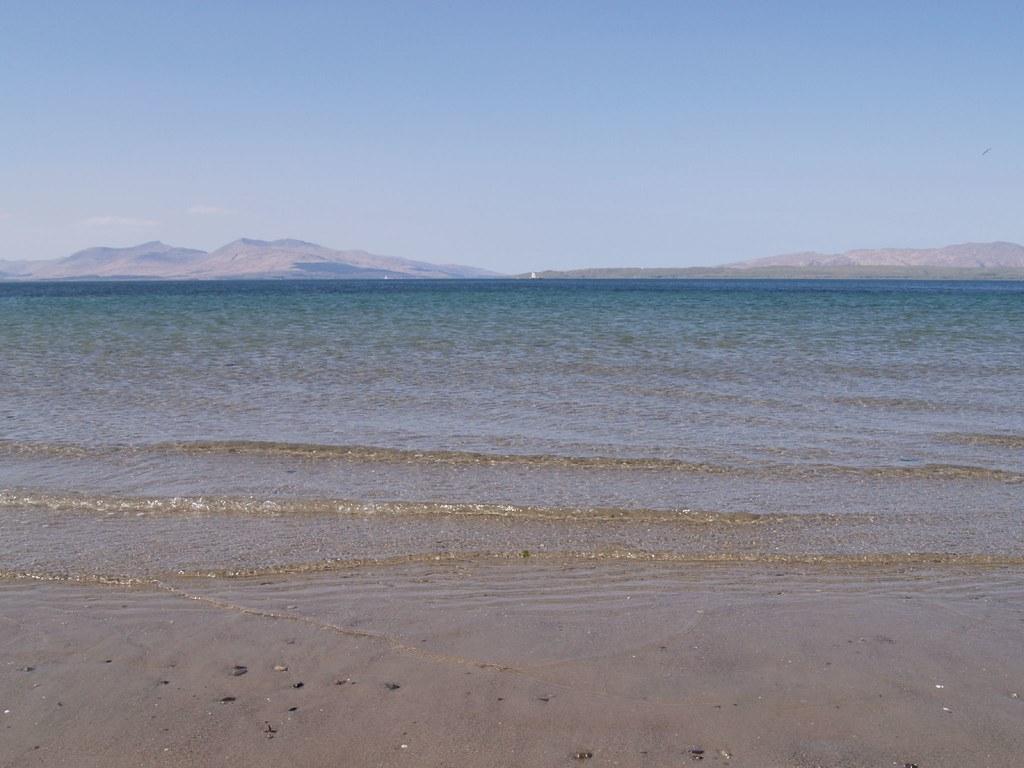 Atlantic off Ganavan Sands