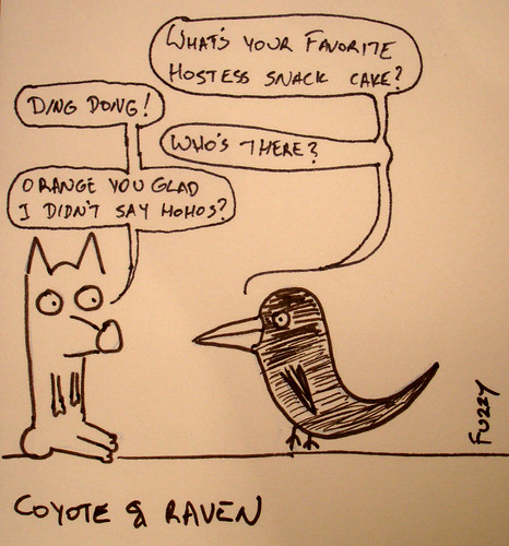 366 Cartoons - 080 - Coyote and Raven