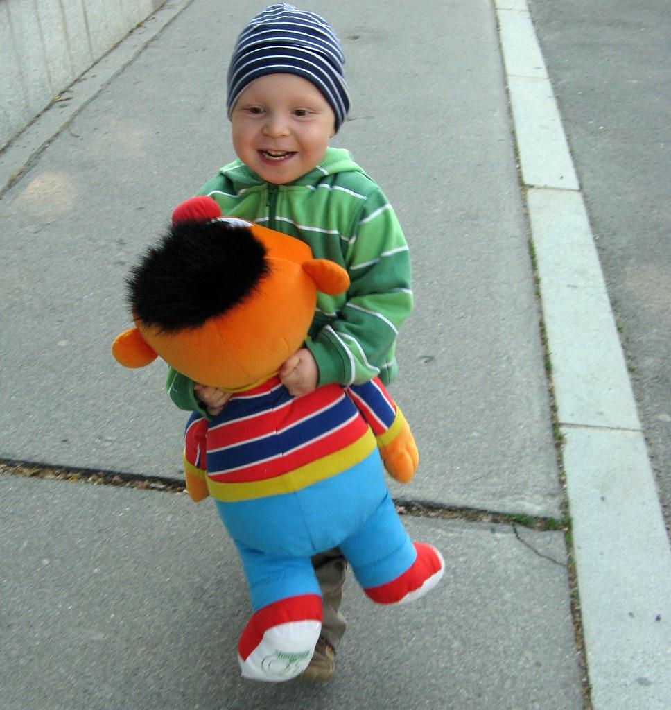 Einen riesen Ernie für Moritz