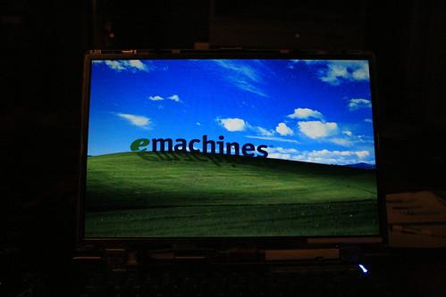 Emachines Laptop Screen Repair