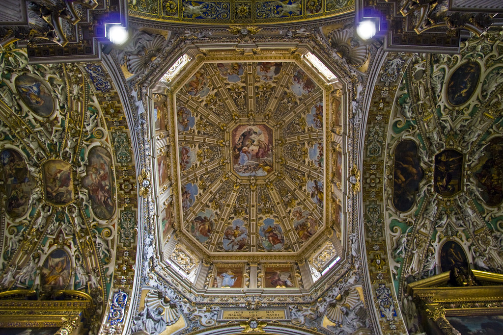 Ceiling of Santa Maria Maggiore #6