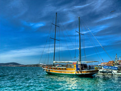 For Aegean Tour ... (Nejdet Duzen) Tags: trip travel blue sea vacation holiday turkey tour yacht trkiye aegean tur deniz mavi yat ege tatil turkei balkesir seyahat ayvalk zmrt platinumphoto anawesomeshot vosplusbellesphotos
