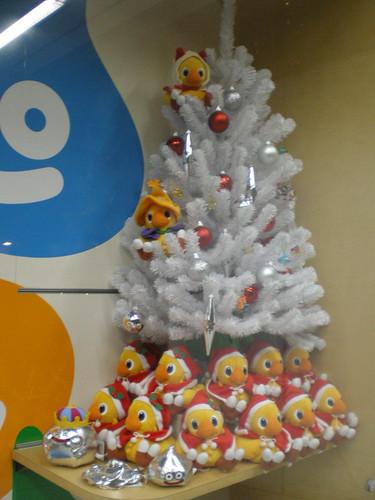 Chocobos navideños