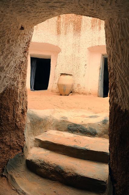 Troglodyte dwelling, Matmata, Tunisia
