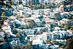Individualism (Pascal Hertleif) Tags: sanfrancisco street city houses house building buildings haus stadt gebude huser vogelperspektive 55200mm strase birdseyeperspective california2009