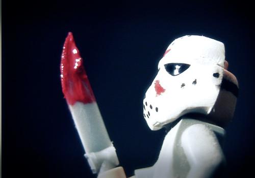 Jason custom minifig