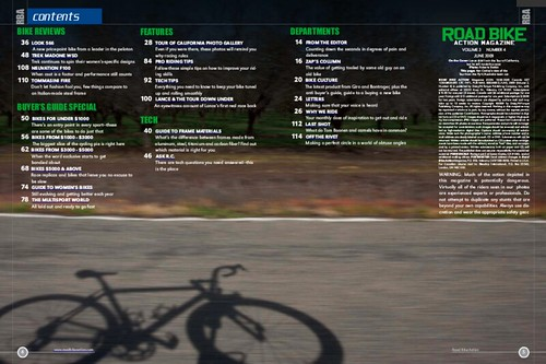 Road Bike Action Tearsheets
