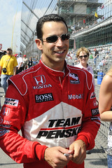 Helio Castroneves; 2009 Pole Winner (janedsh) Tags: race racecar indianapolis indiana driver ims speedway irl indy5