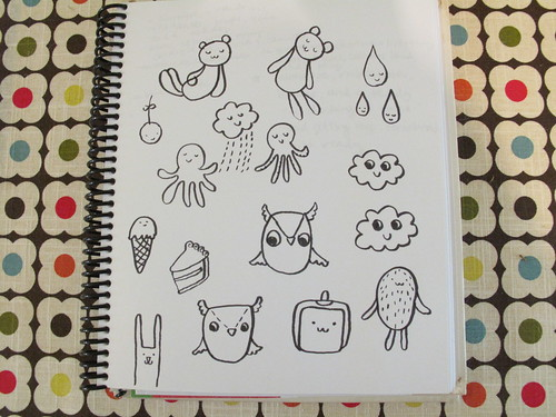 My sketches.