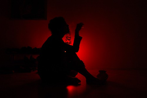 Silhouette, Red Light