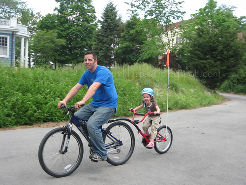 Pedal faster daddy!