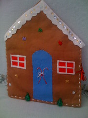 Gingerbread House Card Holder.