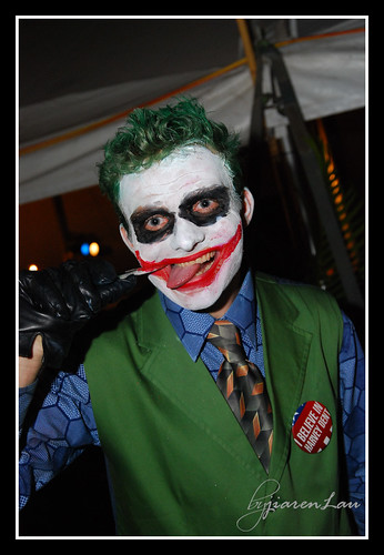 Joker without mask...