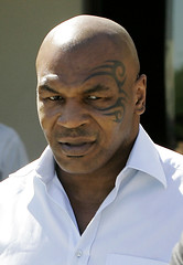 Mike Tyson (AP Photo/Ross D. Franklin)