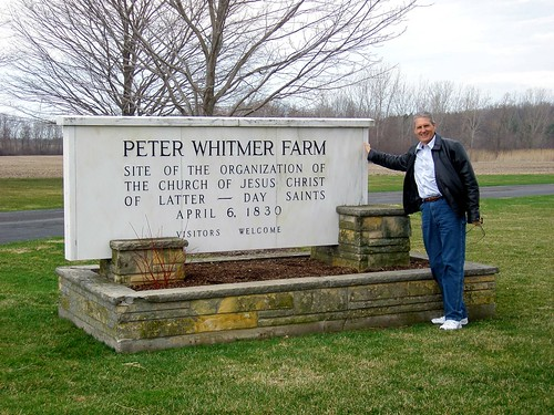 Don at the Peter Whitmer Farm