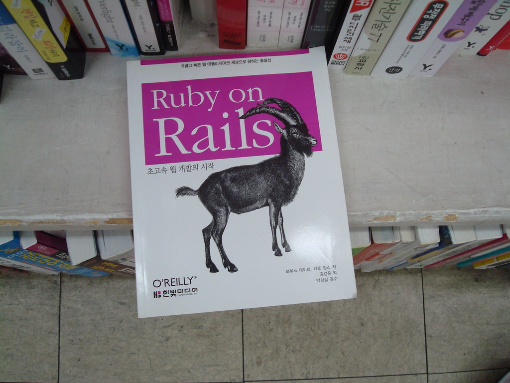 找到Rails的書