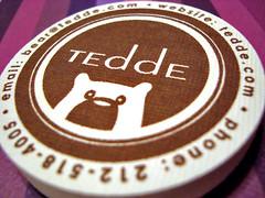 tedde business cards (cutest bears e.v.e.r.)
