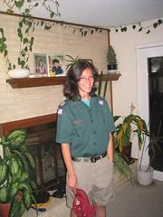Sarah's Class A Staff Uniform