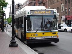 MBTA BOSTON BUS NABI 2189