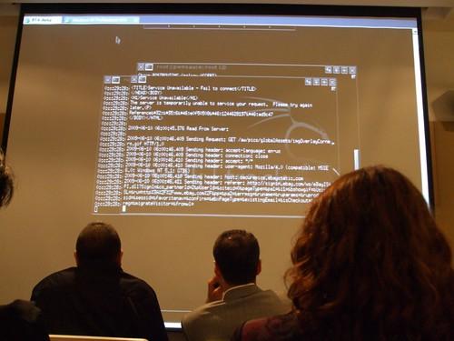 Microsoft Türkiye ofisinde güvenlik seminerindeydim