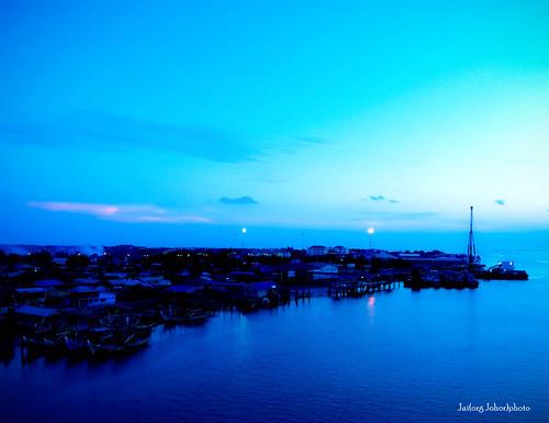 dusk at Kuala Kedah...