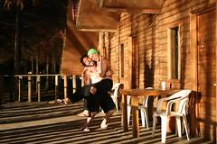 Ensueo en Tziscao (tuxmemento) Tags: lago madera bosque chiapas cabaa calor tziscao elviraygus