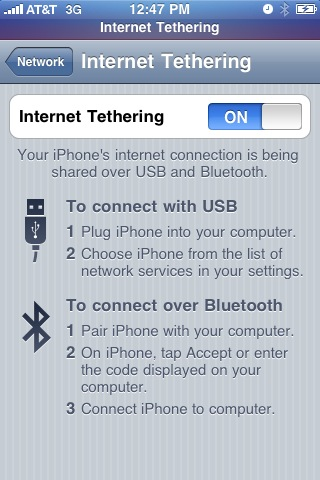 Simple Hack to Enable Free iPhone Tethering On Any Carrier