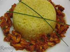 Фото рис с курицей