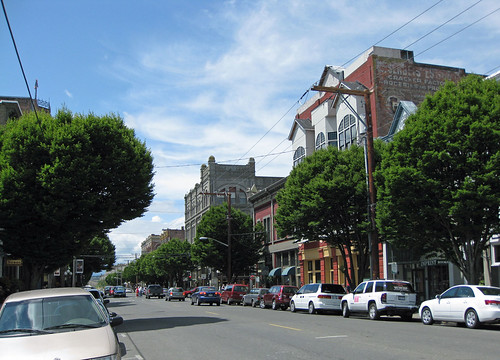 Port Townsend main street