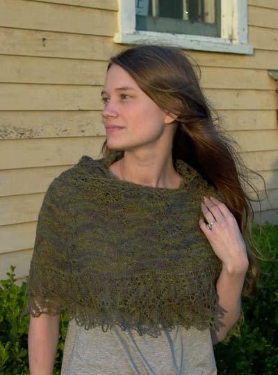 desert sun shawl