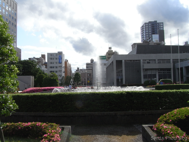 Sendai City Hall Fountain