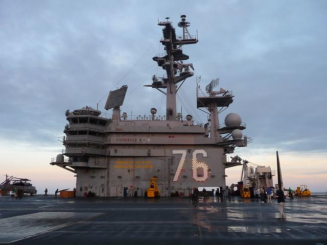 U.S.S. Ronald Reagan (CVN-76) Superstructure