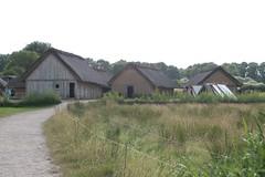 Die Wikingerhäuser in Wikingermuseum-Haithabu 09-07-2009