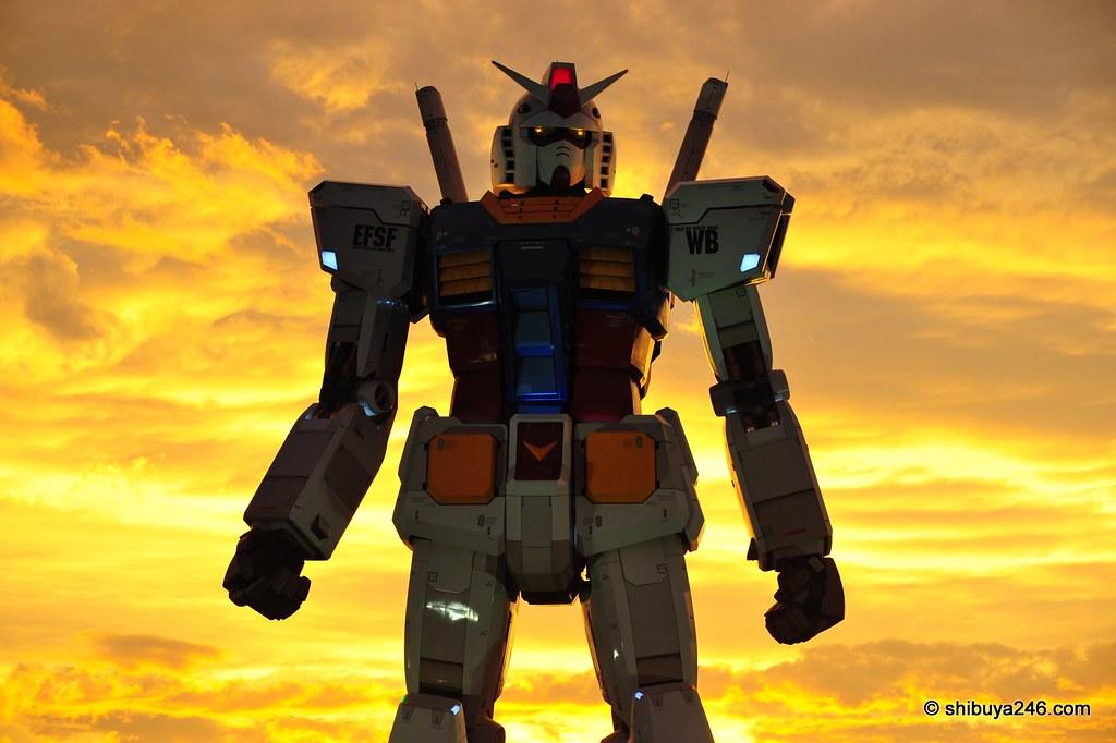 Gundam, Odaiba
