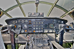 convair b-36j peacemaker cockpit (Matt Ottosen) Tags: arizona museum airplane nikon tucson space aviation air cockpit pima peacemaker b36 convair d90 pimaairspacemuseum pasm upcoming:event=1420165