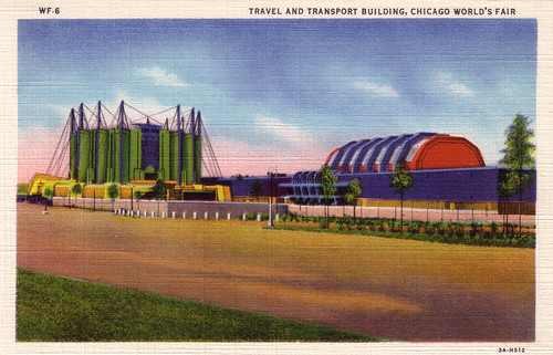 Travel and Transport Building, Chicago World's Fair [WF-6]