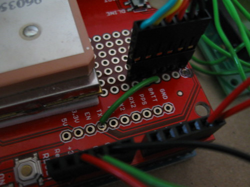 Using a Sparkfun GPS Shield indoors