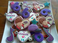 Justin Bieber Cookie Platter. (DeLisious1) Tags: star cookie heart jb musicnote justinbeiber