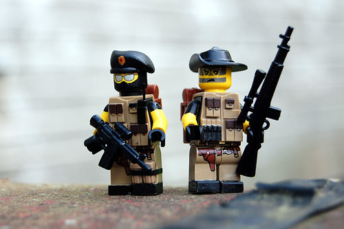 Custom minifig Private Military Contractors custom minifig