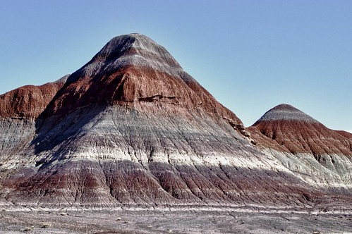 Painted Desert colors and layers