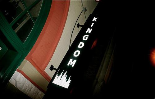 Logo design for Kingdom as signage