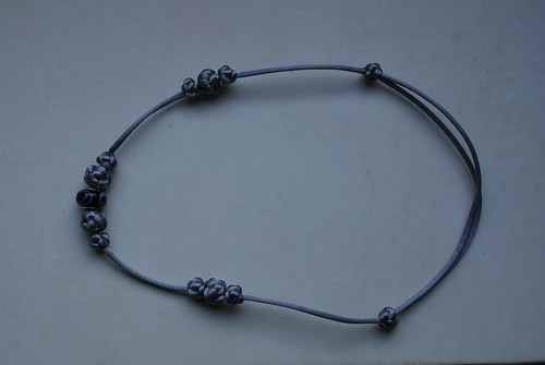 Chinese Knot Necklace Silver