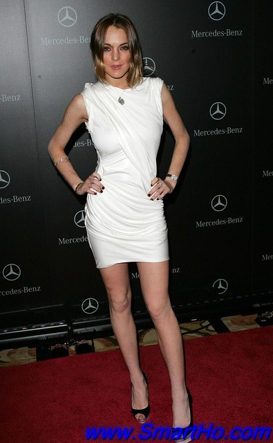 American Actress Lindsay Lohan - Mercedes Benz Oscar Party in Beverly Hills Latest Photos by zoi2009