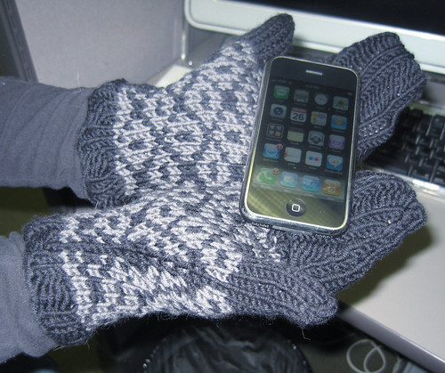 iPhone Mittens
