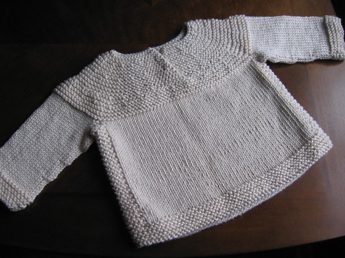 Sweater for Baby E