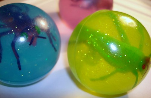 Insect Bugs Fly Grasshopper Fun Ball Soaps Kids Party Favors
